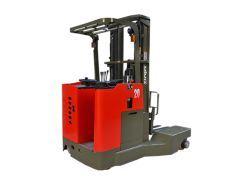 Forklift VNA (Very Narrow Aisle) 4Direction Reach Truck For Long Material Using 25 Ton