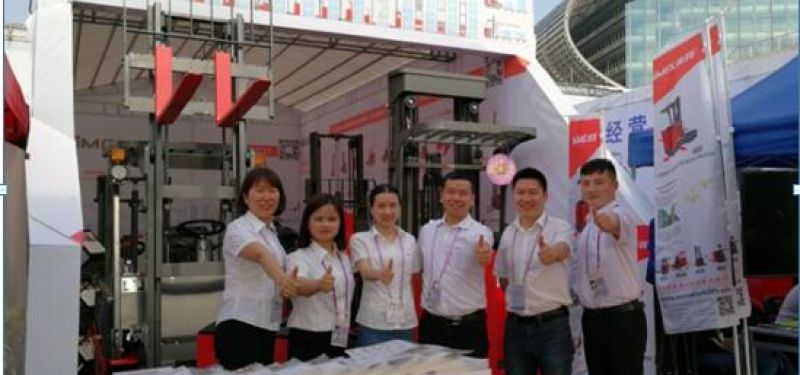 MiMA Forklift During Canton Fair