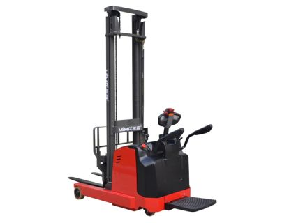 Forklift Reach Trucks 1.5~2 Ton Stand On Electric Reach Stacker Truck MFA15/20 3 electric_reach_truck