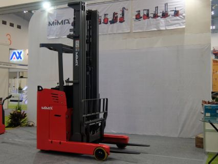 Forklift Reach Trucks Electric Stand On Reach Truck MF10/12/15/20/30 7 forklift_reach_truck_1