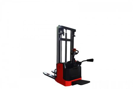 Forklift Stacker Power Pallet Stacker 1.5T-2.0T Lifting 1.6-5 Mtr With 24V 210AH Battery 2 tbm_2